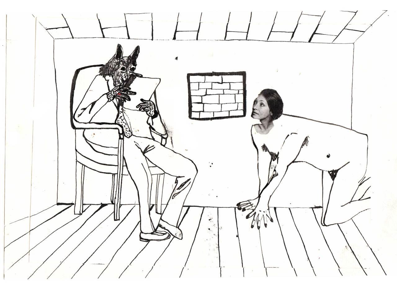 entre chienne et louve