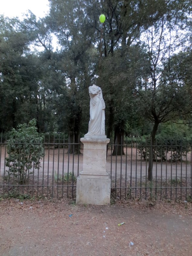 Performance Les jardins de la Villa Borghese